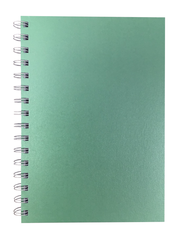 Jade Pearlised A5 Plain Notepad 80gsm 70 Sheets