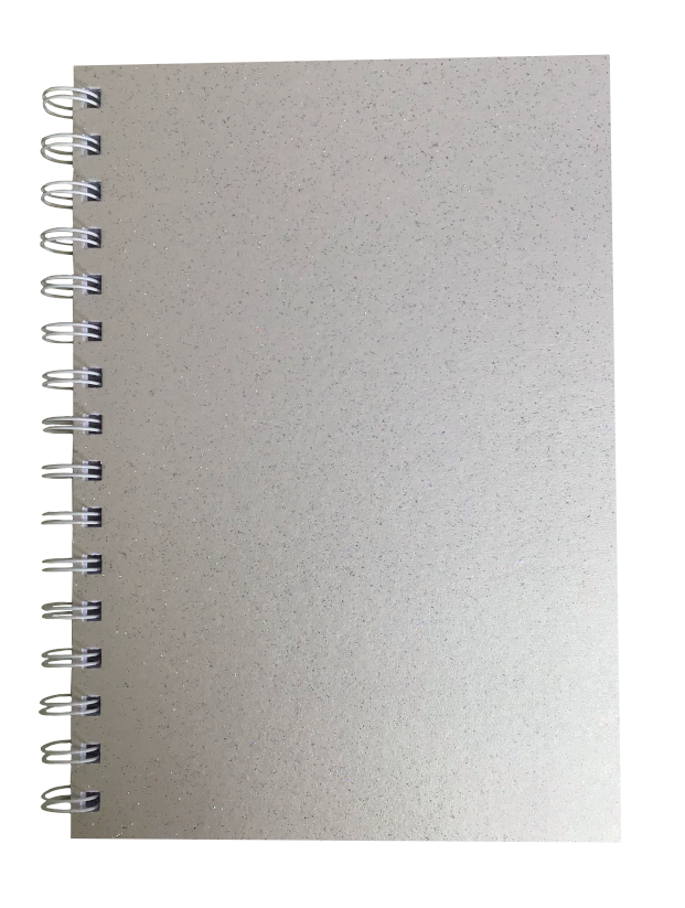 Orchid Sparkle Pearlised A5 Lined Notepad 80gsm 70 Sheets